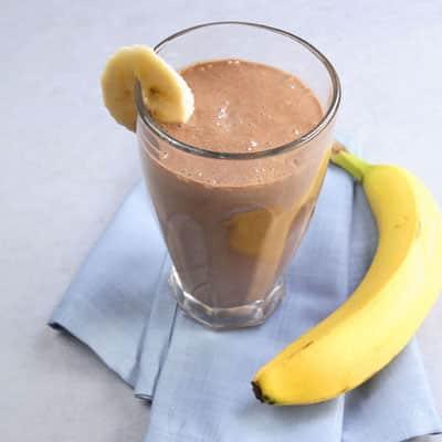 смузи с коллагеном и бананом